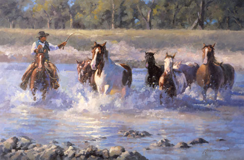 Running the Cheyenne